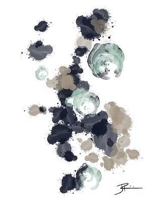 Digital Art - Ocean Vibes I by J Kinion