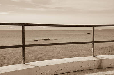 Photograph - Ocean View - Sepia by Marilyn Wilson