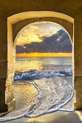 Photograph - Ocean View by Debra and Dave Vanderlaan