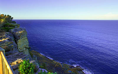 Photograph - Ocean View From North Head by Miroslava Jurcik