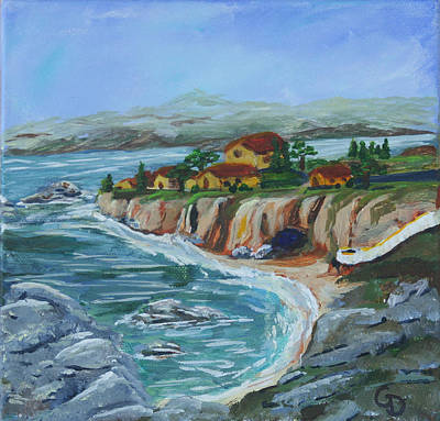 Ocean View Art Print by Gail Daley