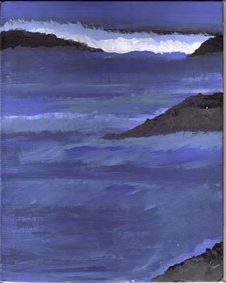 Ocean View Art Print by Lynnette Jones
