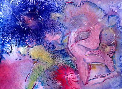 Under The Ocean Mixed Media - Ocean View by M L Borges