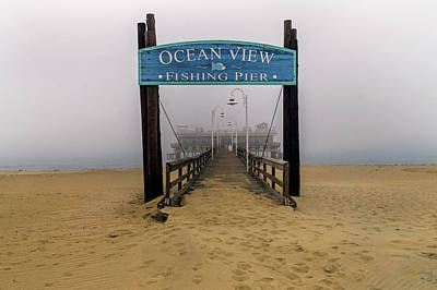 Photograph - Ocean View Pier by Jerry Gammon
