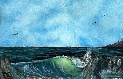 Painting - Ocean View  by Tom Conboy