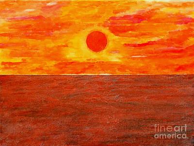 Ocean Virga Sunrise Original