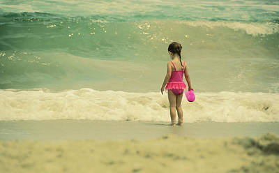 Photograph - Ocean Wading by JAMART Photography