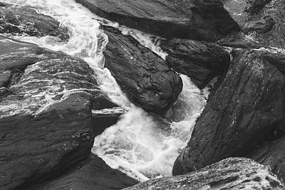 Photograph - Ocean Water On The Rocks by Andrew Pacheco