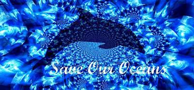 Ocean Waters Art Print
