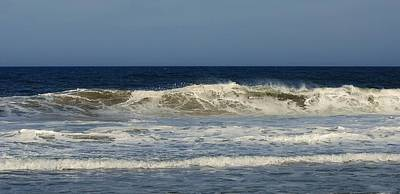 Photograph - Ocean Wave - Jersey Shore by Angie Tirado