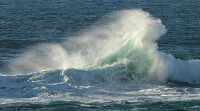 Photograph - Ocean Wave - 8754,s by Wally Hampton