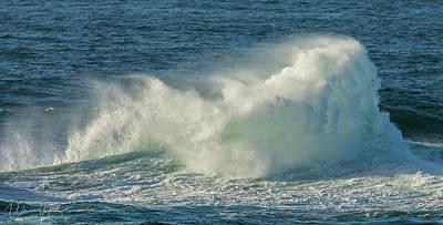 Photograph - Ocean Wave - 8759,s by Wally Hampton