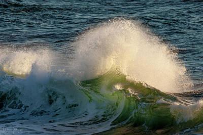 Photograph - Ocean Wave - 9019,s by Wally Hampton