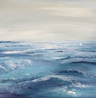 Painting - Ocean Waves by Analisa Chase