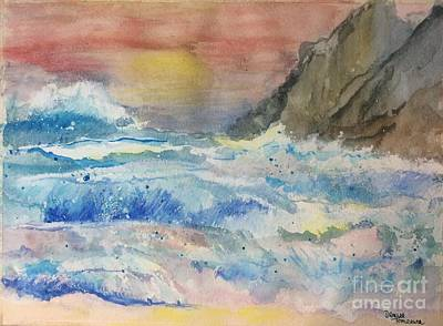Painting - Ocean Waves by Denise Tomasura