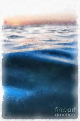 Painting - Ocean Waves by Edward Fielding