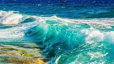 Painting - Ocean Waves by Joy of Life Arts Gallery