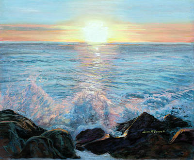Painting - Ocean Waves by Sister Laura McGowan