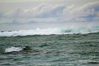 Photograph - Ocean Waves by Steven Parker