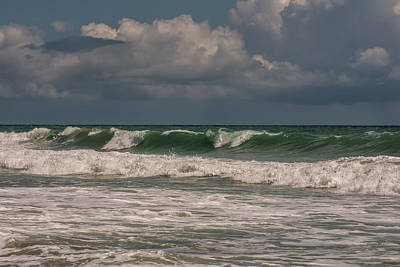 Waves Photograph - Ocean Waves by Zina Stromberg