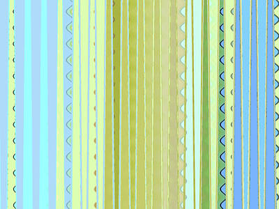Digital Art - Oceana Stripes by Gina Harrison