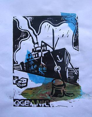 Mixed Media - Oceanic by Adam Kissel