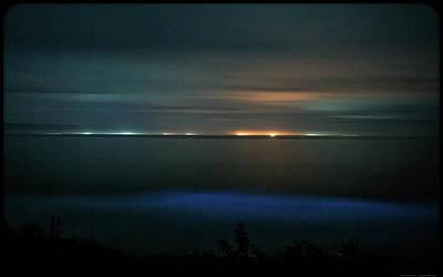 Photograph - Oceanic Glow by Kevin Rosinbum EyewandersFoto