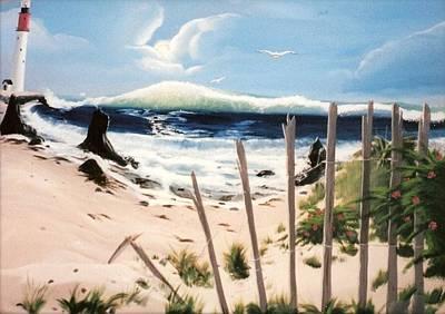 Oceans Breez Art Print