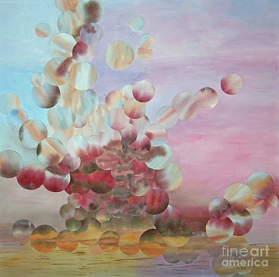 Wall Art - Painting - Ocean's Draw by Jeni Bate