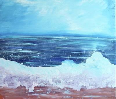 Painting - Oceans Fall by Etta Harris