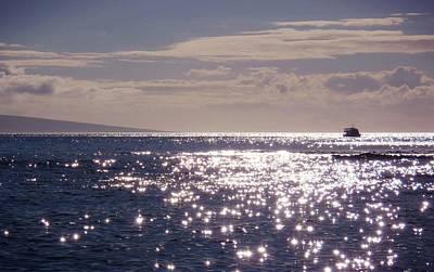 Oceans Light Art Print by JAMART Photography