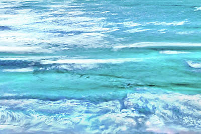 Photograph - Oceans Of Teal by Az Jackson