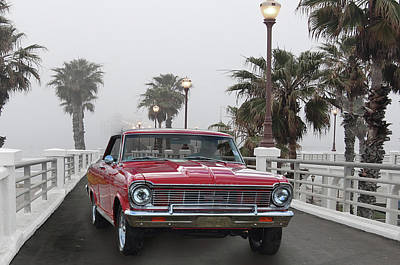 Photograph - Oceanside Chevy 2  by Bill Dutting
