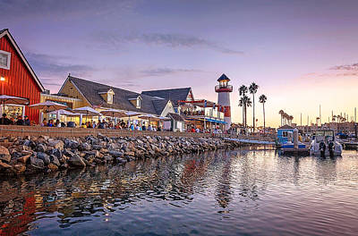 Digital Art - Oceanside Harbor by Ann Patterson