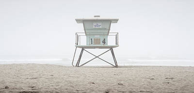 Photograph - Oceanside Harbor Lifeguard Tower by William Dunigan