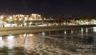 Photograph - Oceanside Night by Suzanne Oesterling
