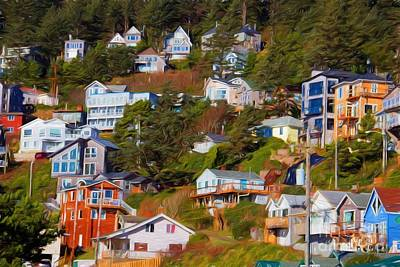 Photograph - Oceanside Oregon by Jon Burch Photography