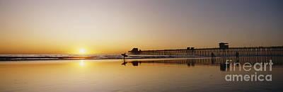 Oceanside Pier, California Art Print by Bill Schildge - Printscapes