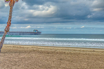 Photograph - Oceanside Pier by David Zanzinger