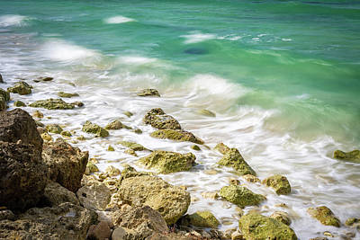 Photograph - Oceanside In Trelawny, Jamaica by Debbie Ann Powell