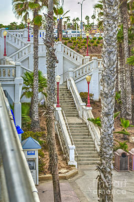 Photograph - Oceanside Steps by David Zanzinger