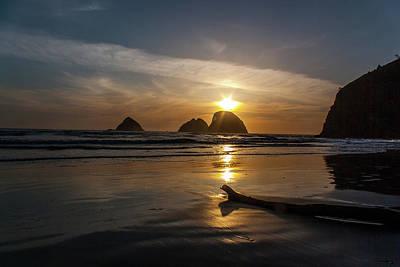 Photograph - Oceanside Sunset 2 by Ken Dietz