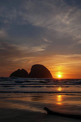 Photograph - Oceanside Sunset 4 by Ken Dietz