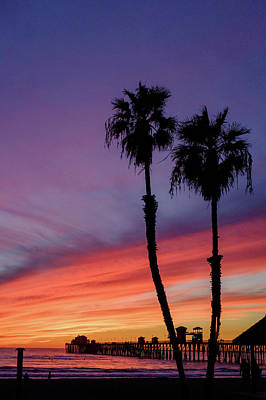 Photograph - Oceanside Sunset by Nick Stone