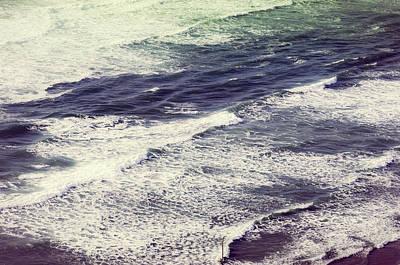 Photograph - Oceanside Waves Oregon by Amyn Nasser