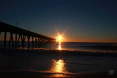Photograph - Oceanview Sunrise by Geri Glavis