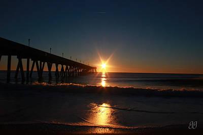 Photograph - Oceanview Sunrise by Geri Glavis