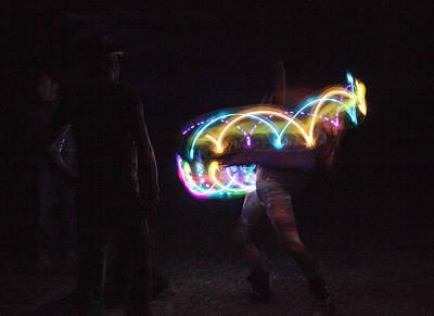 Photograph - Ocf Light Painter # 3 by John Higby