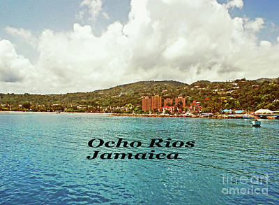 Photograph - Ocho Rios Jamaica by Gary Wonning