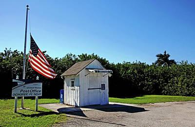 Photograph - Ochopee Post Office Florida by Debbie Oppermann